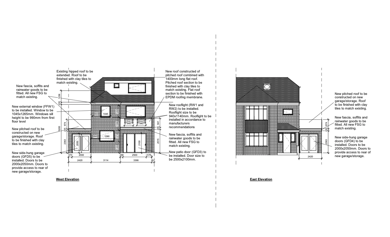 Deakin Lane, Tonbridge – Rear Extension