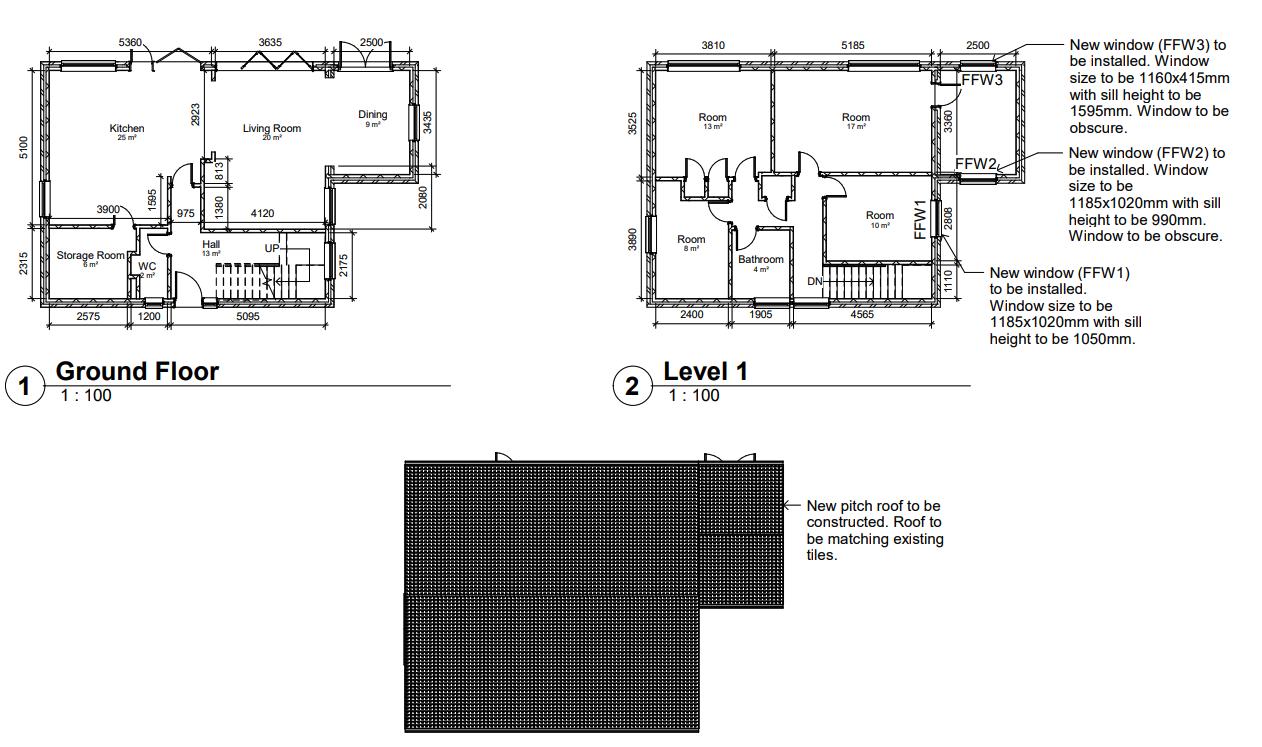Hamstreet Road, Ashford – First Floor Extension