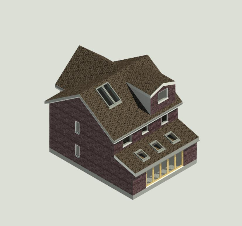 Architectural Design - Planning Application -Shipley Mill Close, Ashford Kent - Loft Conversion