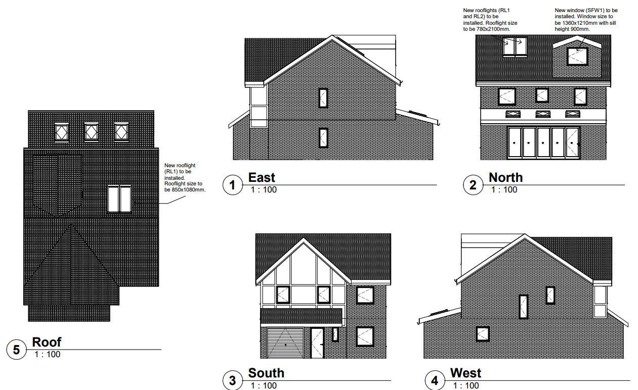 Shipley Mill Close, Ashford – Loft Conversion