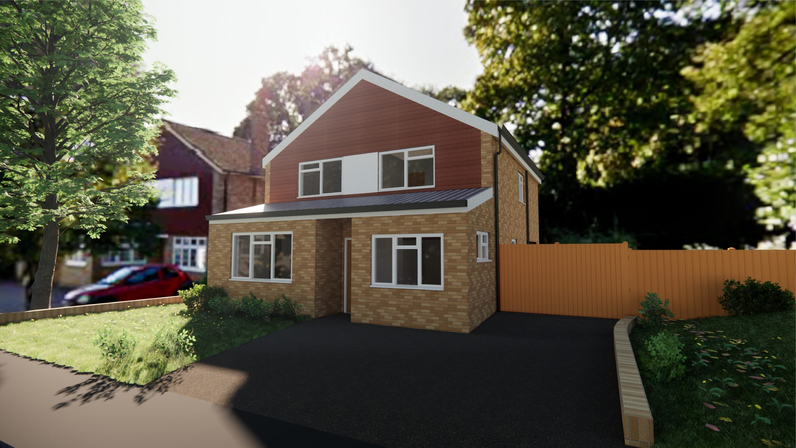 Woodlands Road, Aylesford – Front Extension