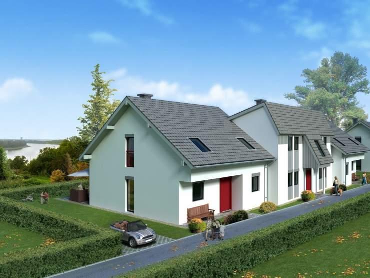 semi-detached house extension