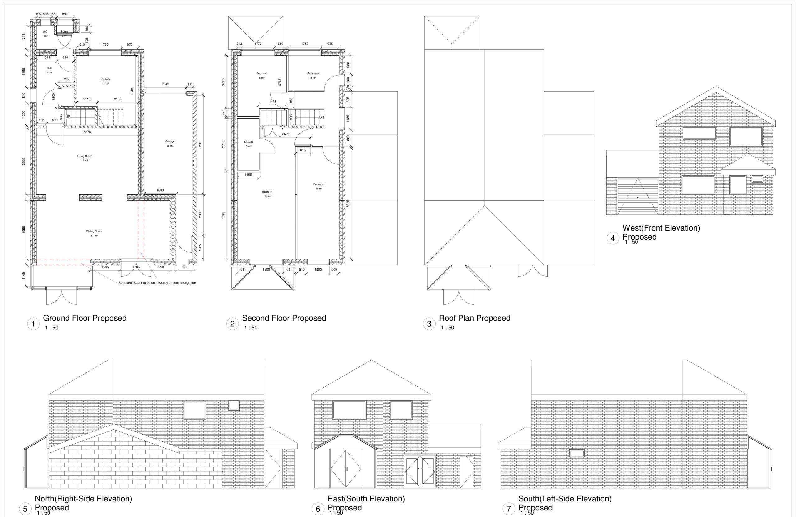 Basmere Close, Maidstone – Rear Extension