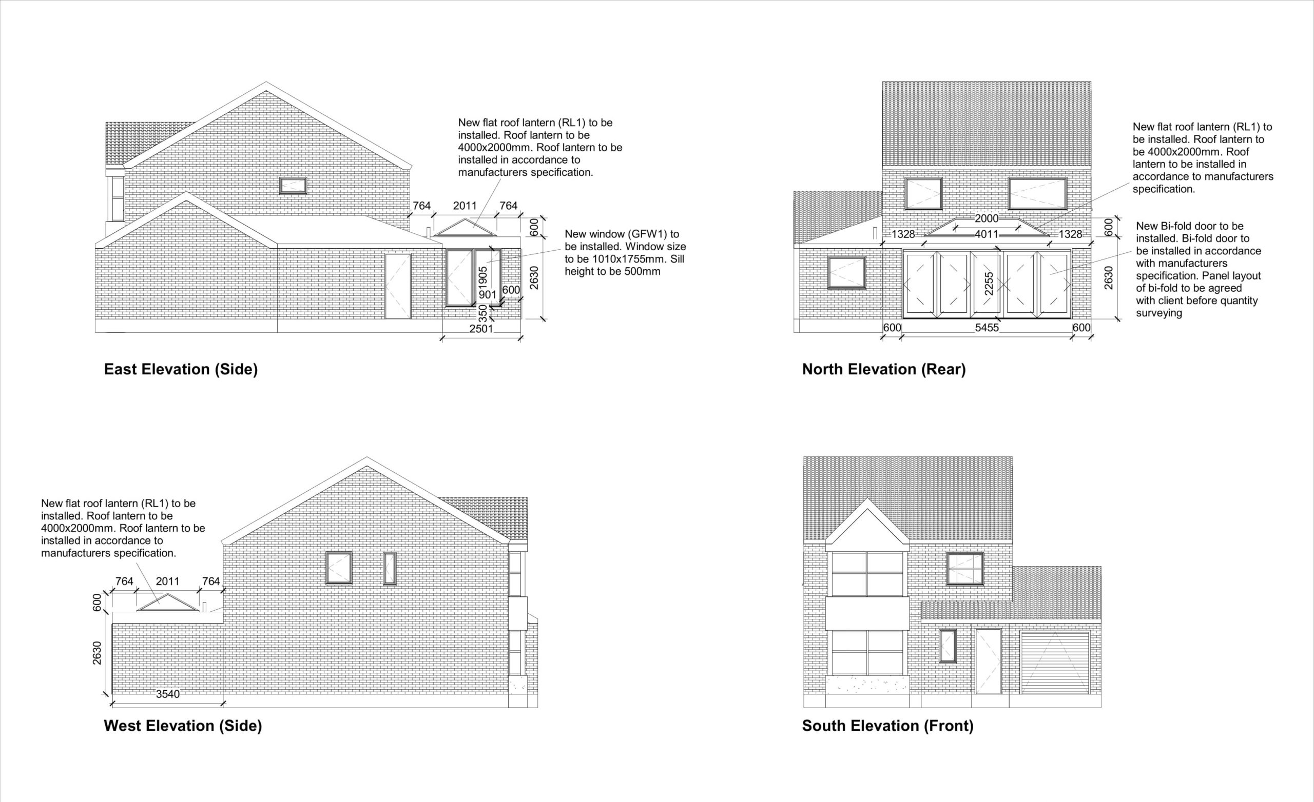 Melford Drive, Maidstone – Rear Extension
