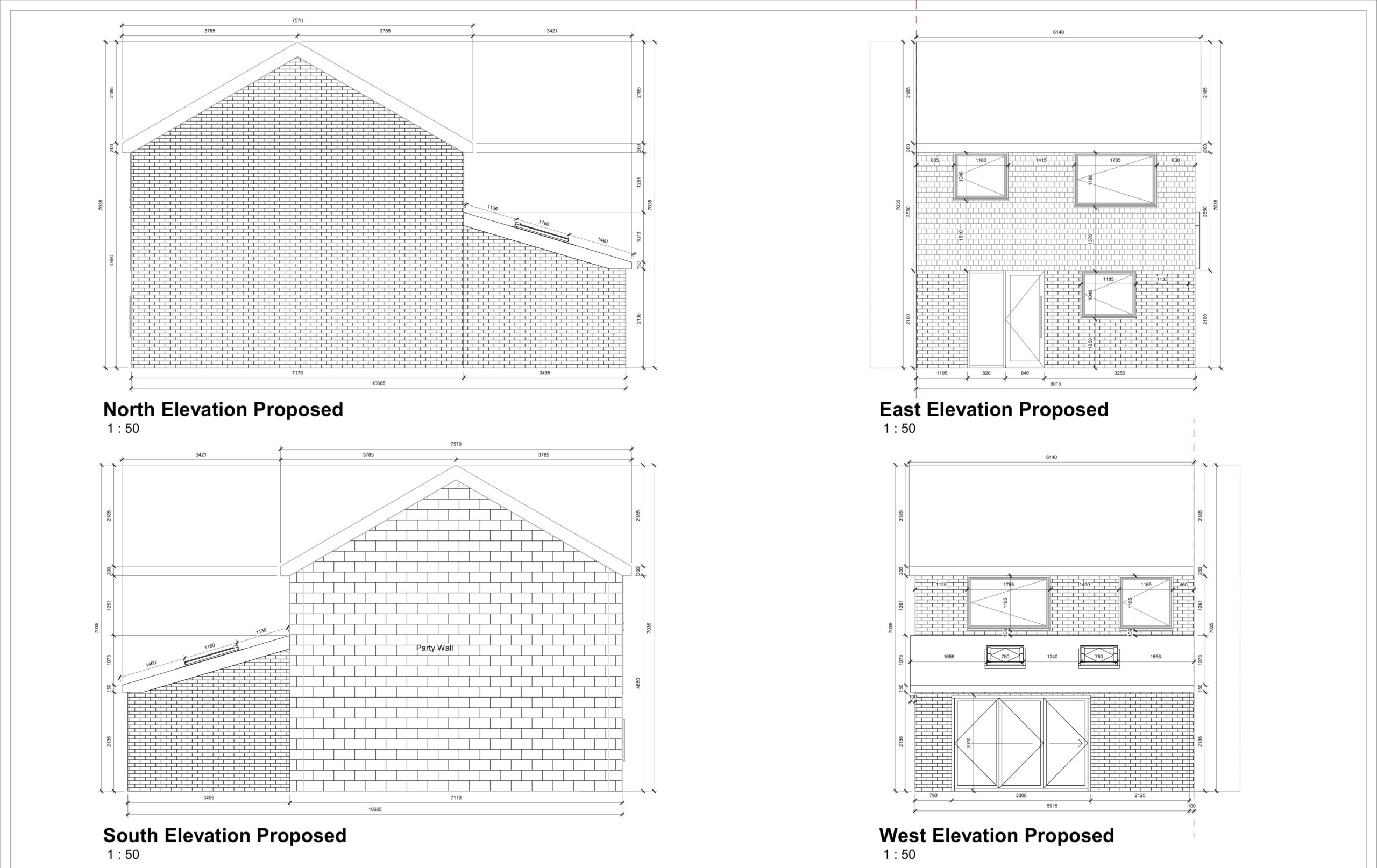Lordswood Lane, Chatham – 2 Storey Rear Extension