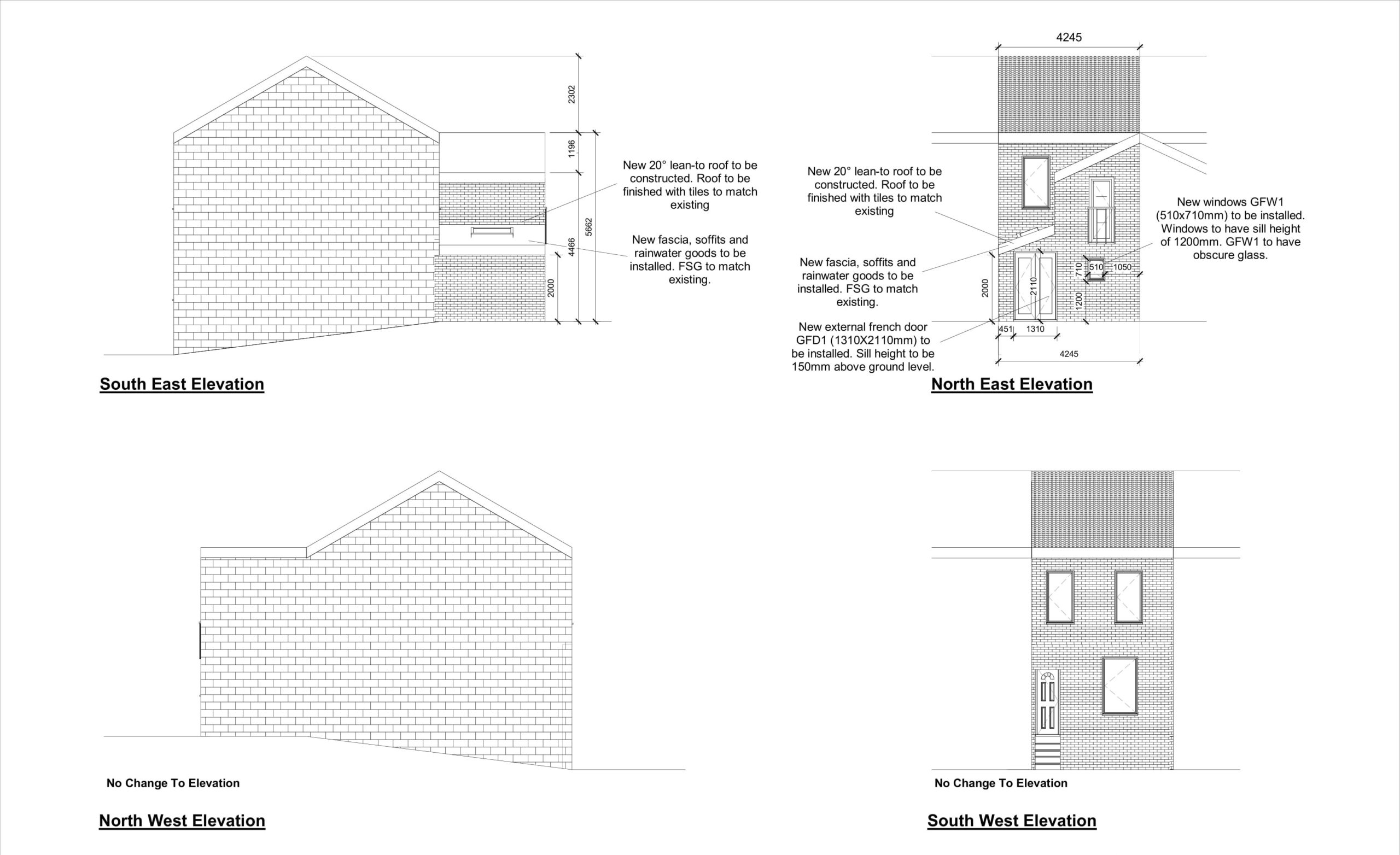 East Street, Chatham – Rear Extension