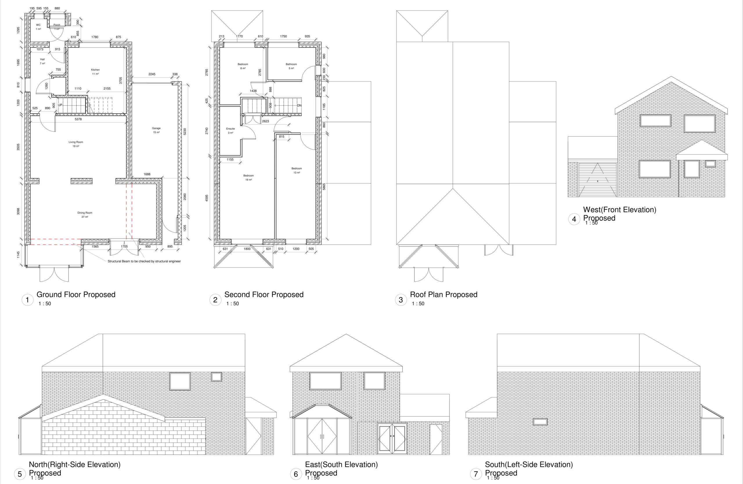 Basmere Close, Maidstone – 2 Storey Rear Extension