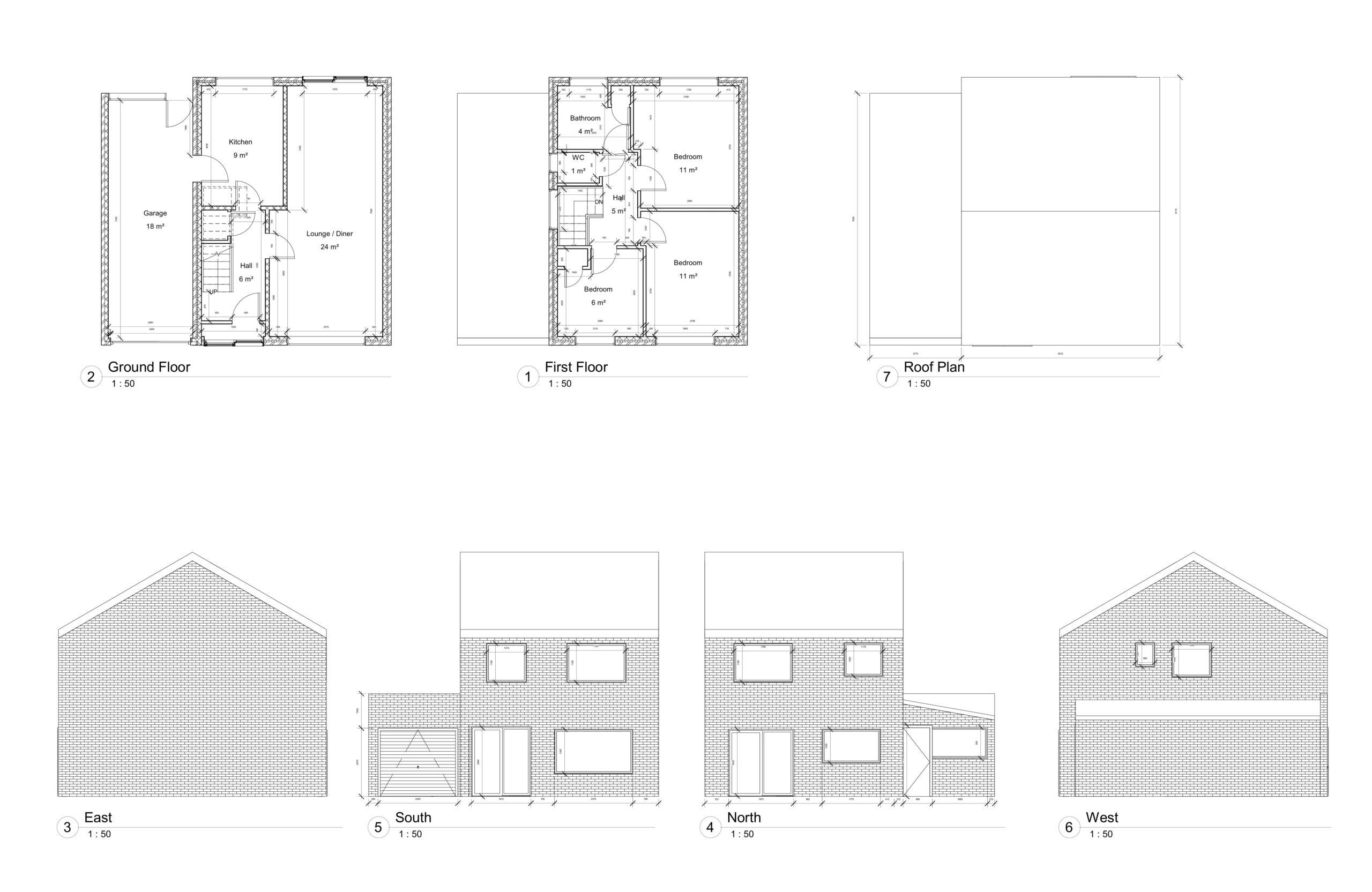 Helen Close, Dartford – 2 Storey Side Extension and Porch