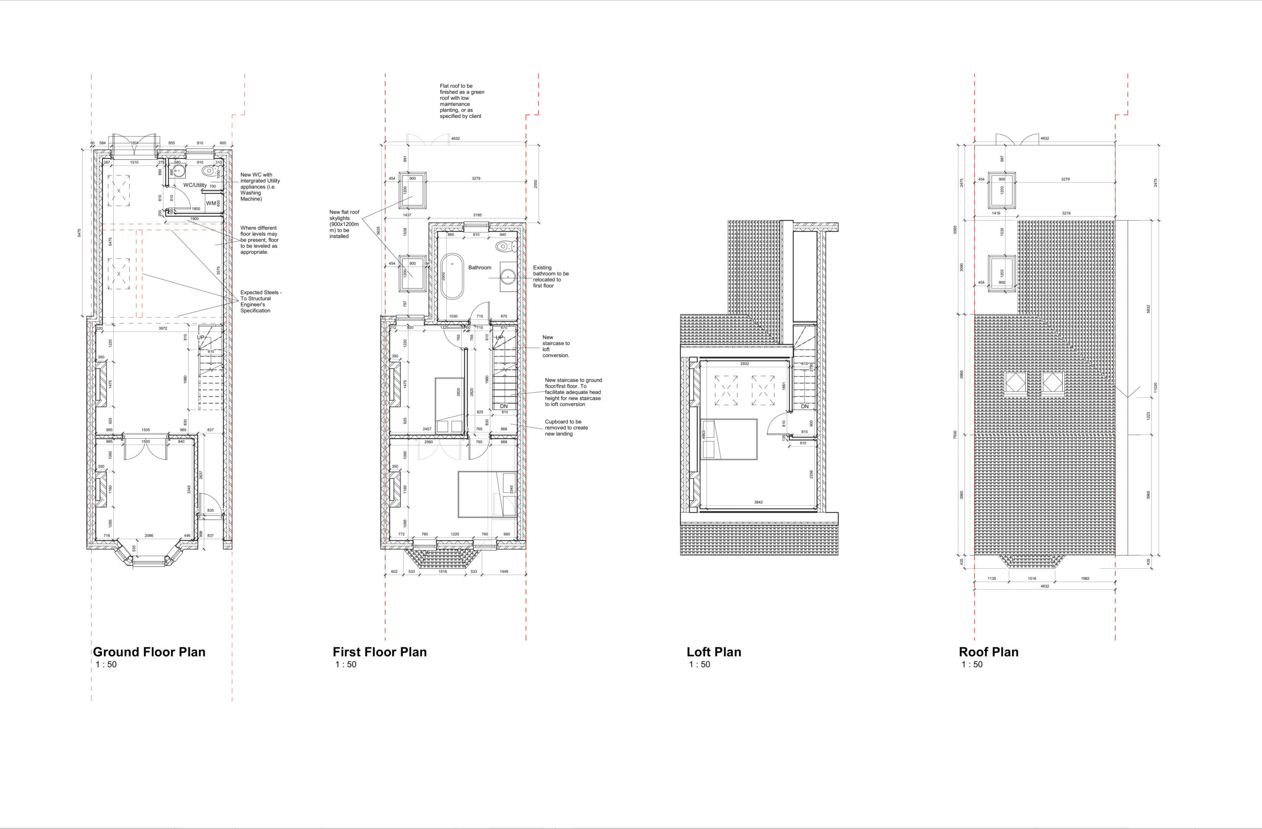 Mead Road, Ashford – Infill Extension and Loft Conversion